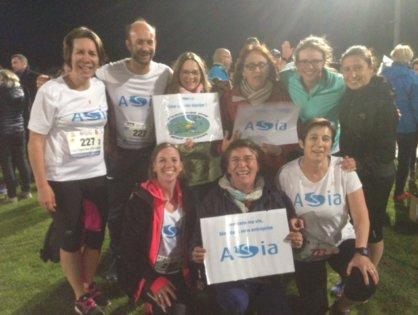 L'ASIA au 9ème Marathon relais Interentreprises